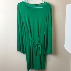Green dress or long top